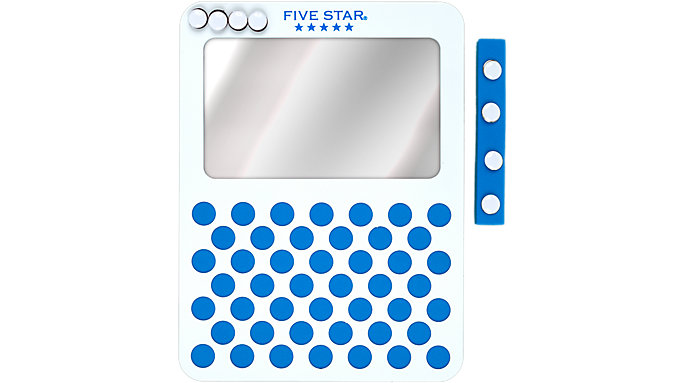 Five Star Magnetic Mirror and Push Pin Board  (81066)