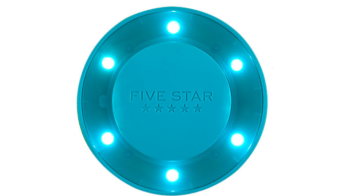 Five Star Push Button Locker Light  (81078)
