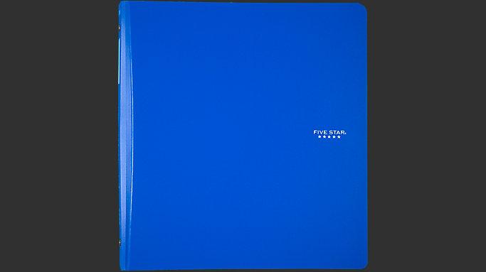 1 inch plastic binder 29182 five star