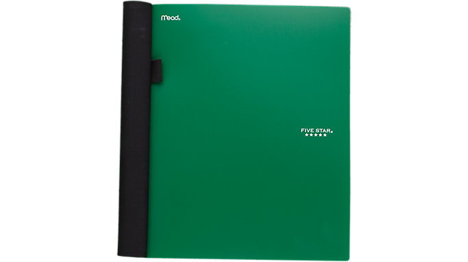 Five Star Advance 15-Pocket Folder  (34138)