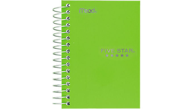 Five Star Fat Lil Notebook-College Ruled  (45388)
