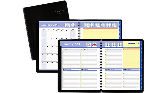 AT-A-GLANCE QuickNotes Weekly-Monthly Appointment Book  (7601)
