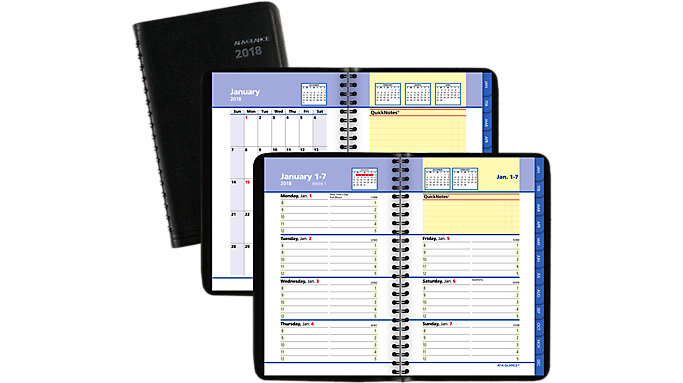 AT-A-GLANCE QuickNotes Weekly-Monthly Pocket Appointment Book  (7603)