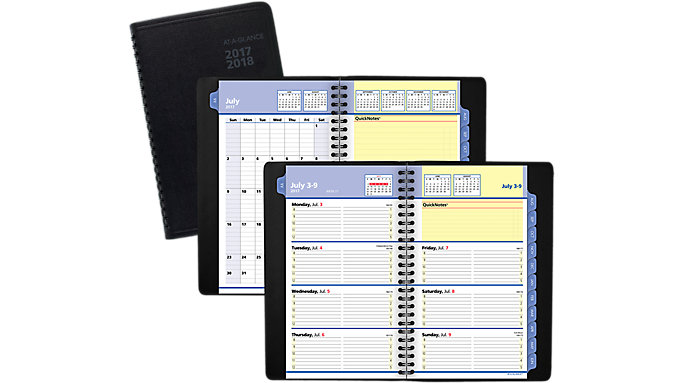 AT-A-GLANCE QuickNotes Academic Weekly-Monthly Appointment Book  (7612)