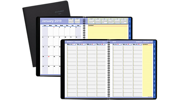 AT-A-GLANCE QuickNotes Weekly-Monthly Appointment Book  (76950)