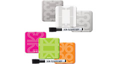 ReWritables Dry Erase Magnets with Marker 3 pack (Item # 79201-WM)
