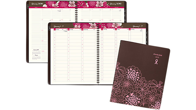 AT-A-GLANCE Sorbet Weekly-Monthly Appointment Book  (794-905)