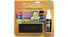 2-in-1 Dry Erase Marker Starter Kit with Eraser and Cleaner (Item # 79549A)