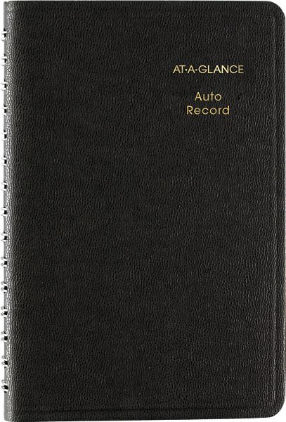 At-A-Glance Auto Record Book - Auto Record Books