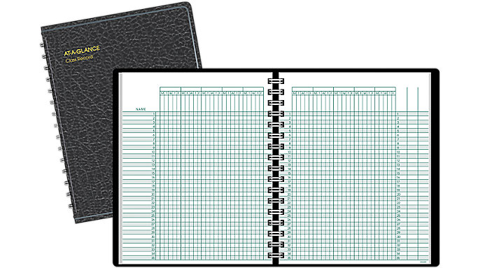 AT-A-GLANCE Class Record Book  (80150)