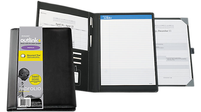 AT-A-GLANCE Outlink Padfolio  (802005)