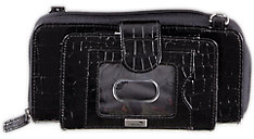 WalletBe Accordion Cell Phone Clutch Wallet (Item # 8132)