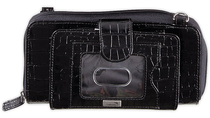 Day-Timer WalletBe Accordion Cell Phone Clutch Wallet  (8132)