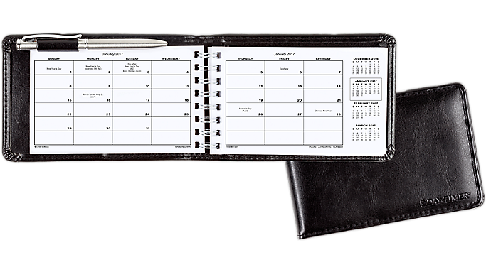 Day-Timer Pocket Jot Monthly Planner - Monthly Planners 900981