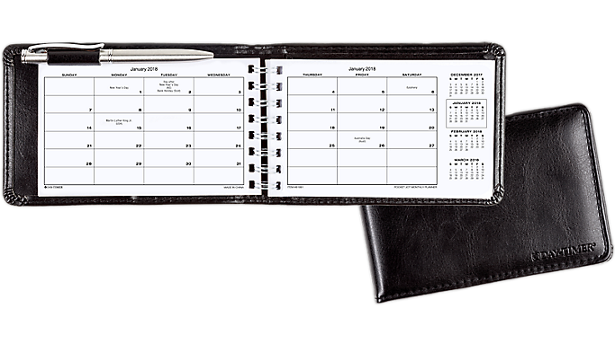 Day-Timer Pocket Jot Monthly Planner - Planners 935107