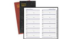 Fine Diary Telephone-Address Book (Item # 8202)