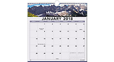 Landscape Monthly Wall Calendar (Item # 88200)