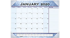 Slate Blue Monthly Desk Pad (Item # 89701)