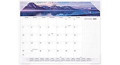 Landscape Panoramic Monthly Desk Pad (Item # 89802)