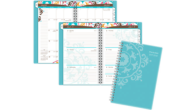 AT-A-GLANCE Suzani Academic Weekly-Monthly Appointment Book  (917-200A)