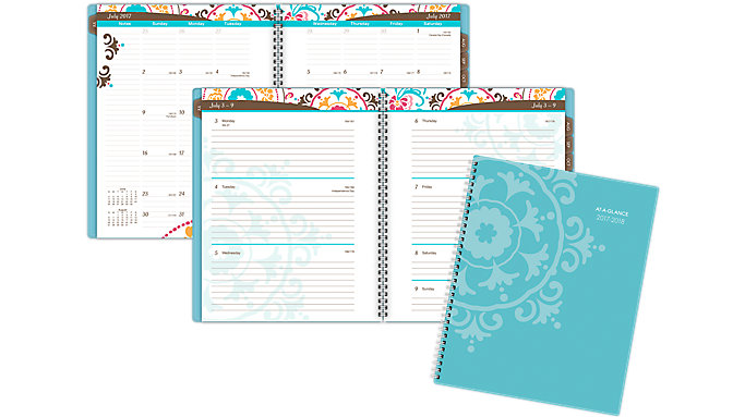 AT-A-GLANCE Suzani Academic Weekly-Monthly Planner  (917-905A)