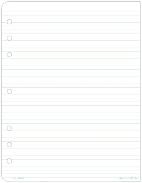 Day-Timer Lined Pages...