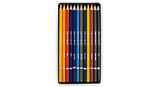 Academie 12 Colour Pencils Tin (Item # 98006)