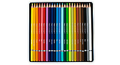 Academie 24 Colour Pencils Tin (Item # 98012)
