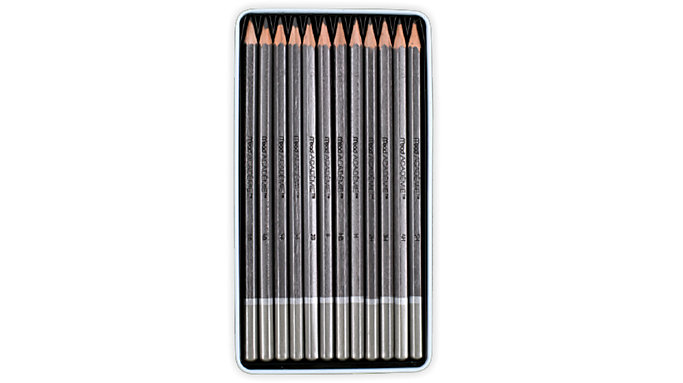 Mead Academie Graphite Sketching Pencils  (98020)