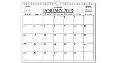 Business Monthly Wall Board Calendar (Item # 997-1)