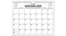 Business Monthly Wall Board Calendar (Item # 997-1)
