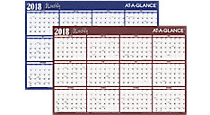 Horizontal Erasable Wall Calendar (Item # A102)