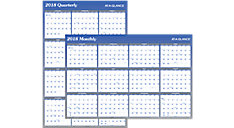 2-Sided Erasable Wall Calendar (Item # A1102)