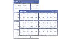 XL 2-Sided Erasable Wall Calendar (Item # A1152)