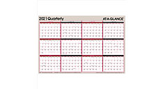 2-Sided Erasable Wall Calendar (Item # A123)