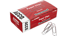 Economy Jumbo Paper Clips Smooth Finish (Item # A7072580)