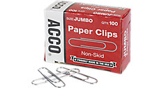 Economy Jumbo Paper Clips Non-skid Finish (Item # A7072585)
