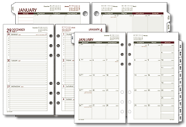 day runner planners calendars at a glance