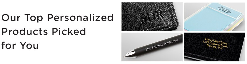 Personalized Planning Products and Accessories