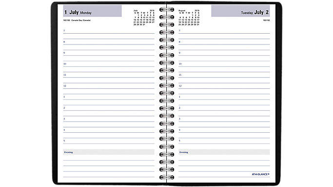 dayminder academic daily appointment book