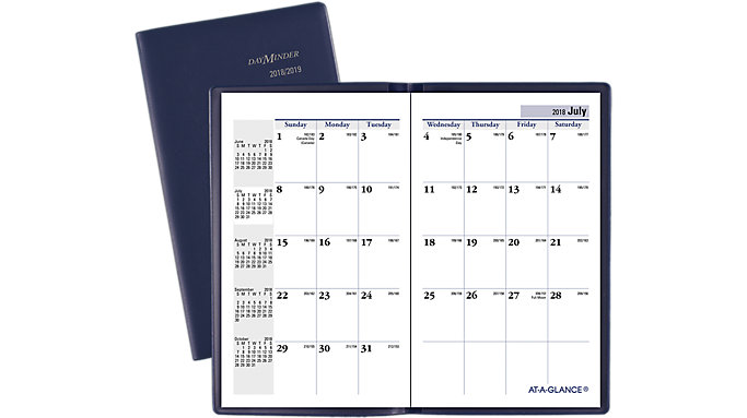 AT-A-GLANCE DayMinder Academic Monthly Pocket Planner  (AY53)