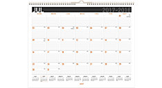 Contempo Academic Medium Wall Calendar (Item # AY8X)