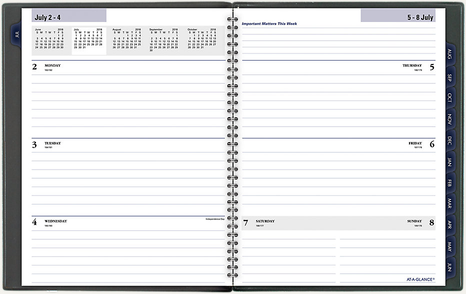 Academic Weekly Monthly Planner Ayc545 At A Glance