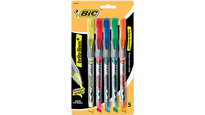 BIC Brite Liner with Highlighter Pen-Style  (B4P51)