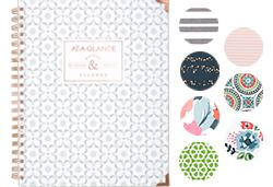 AT-A-GLANCE Badge Planner Variety of Patterns