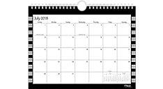 Simplicity Academic Monthly Wall Calendars (Item # CAM203)