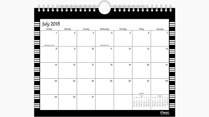simplicity academic monthly wall calendars cam203 mead