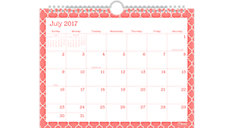 Caprice Academic Monthly Wall Calendar (Item # CAM204)