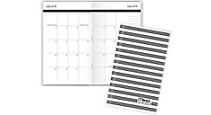 Simplicity Academic 2-Year Monthly Pocket Planner (Item # CAM301)