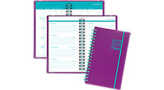 Color Pop Academic Weekly-Monthly Pocket Planner with Bungee (Item # CAW303)